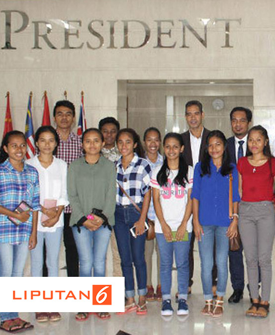 Timor Leste Bangga Mahasiswanya Kuliah di President University