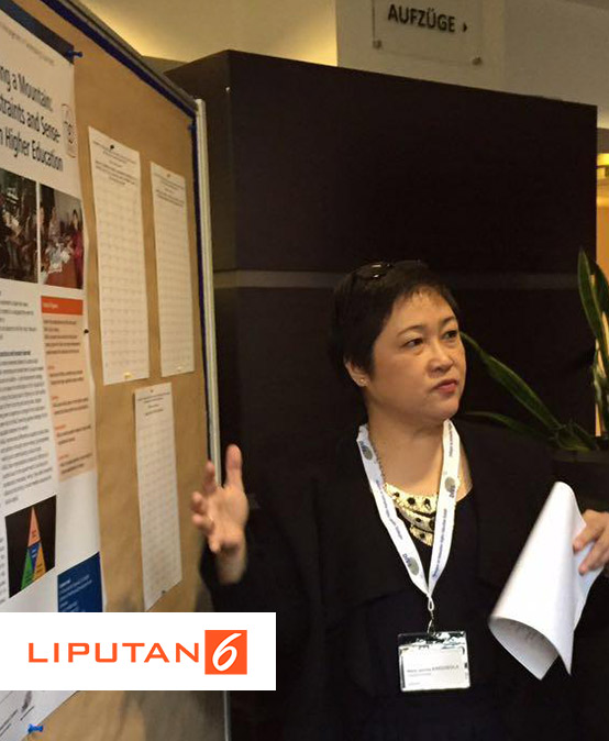 Maria J Bicara Kepemimpinan Wanita di Konferensi International